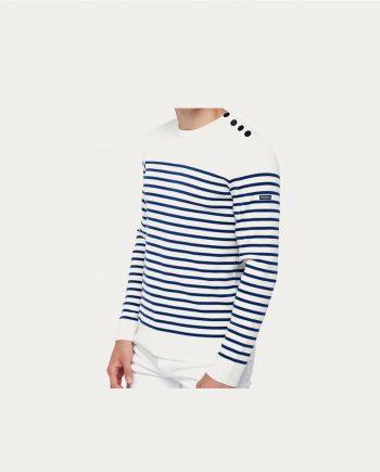 tonsor_cie_royal_mer_pull_klasel_blanc_rayures_bleu_clair