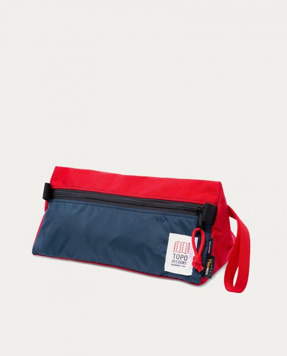 tonsor_cie_topo_design_dopp_kit_red_navy