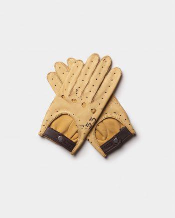 gants cuir homme