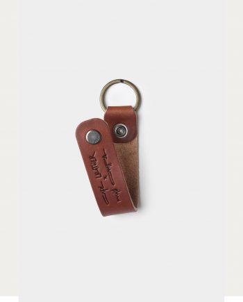 key chain cafe leather café